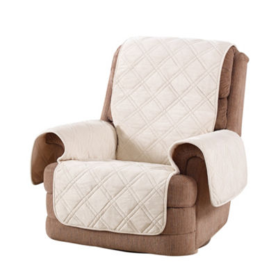 Sure Fit Triple Protection Furniture Protector Recliner Slipcover