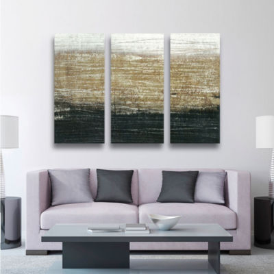 Sandstorm 3-pc Set Gallery Wrapped Canvas