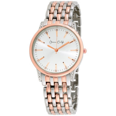 Womens Two Tone Bracelet Watch-St2452s695-956