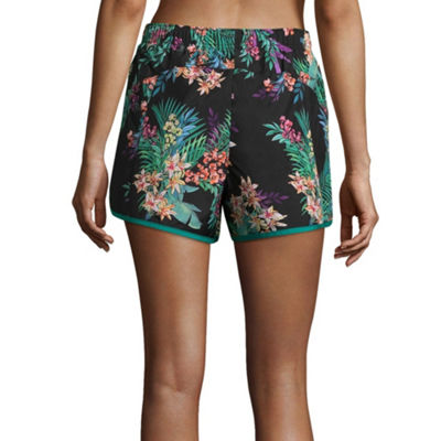 Xersion Contrast Yoke Run Short - Tall Inseam 4.75""