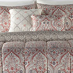 Victoria 5-pc. Damask + Scroll Wrinkle Resistant Comforter Set