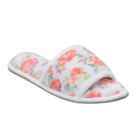 04104e66b Dearfoams Terry Quilted Slip On Slippers JCPenney