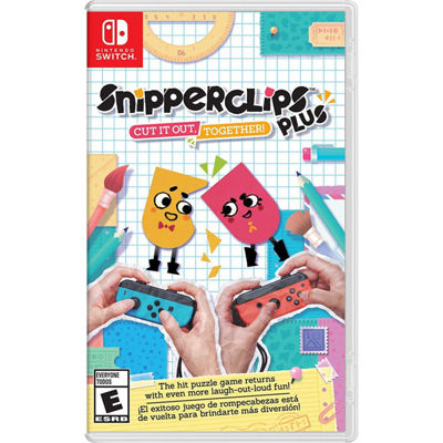 Nintendo Switch Snipperclips Plus: Cut It Out, Together! Video Game