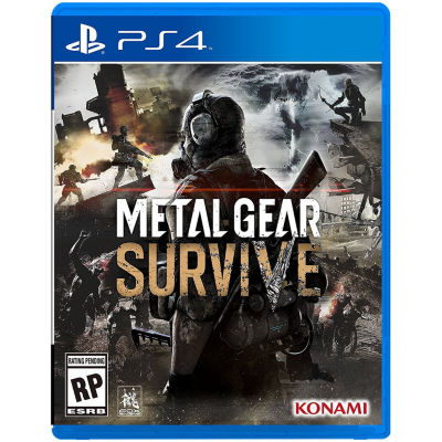 Playstation 4 Metal Gear Survive Video Game