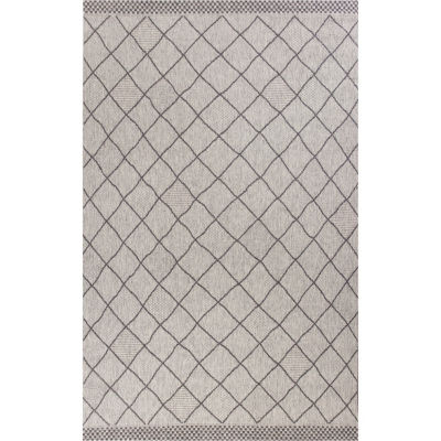 Kas Farmhouse Rustico Rectangular Indoor/Outdoor Rugs