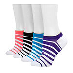 Champion 4 Pair No Show Socks Womens