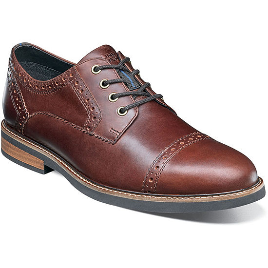 Nunn Bush Men's Overland Cap Toe Dress Oxford
