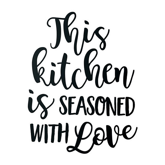 New View New View Kitchen Wall Letters Wall Decal