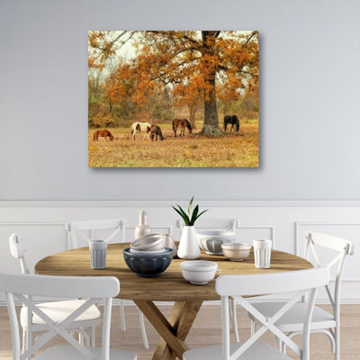 Calmly Grazing Canvas Art