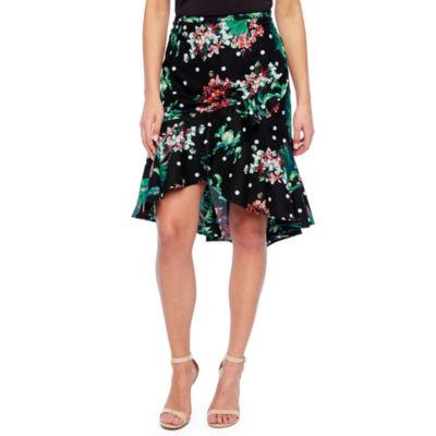 Bold Elements Ruffle Skirt