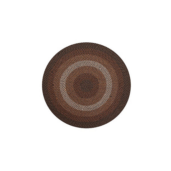 Better Trends Woodbridge Braided Round Reversible Indoor Rugs