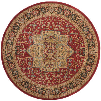 Safavieh Mahal Collection Alfonso Oriental Round Area Rug