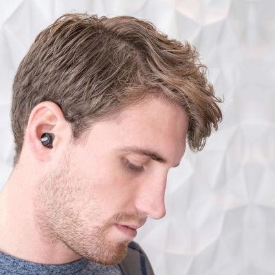 Rowkin Bit Stereo True Wireless Noise Canceling In-Ear Headphones - Gray