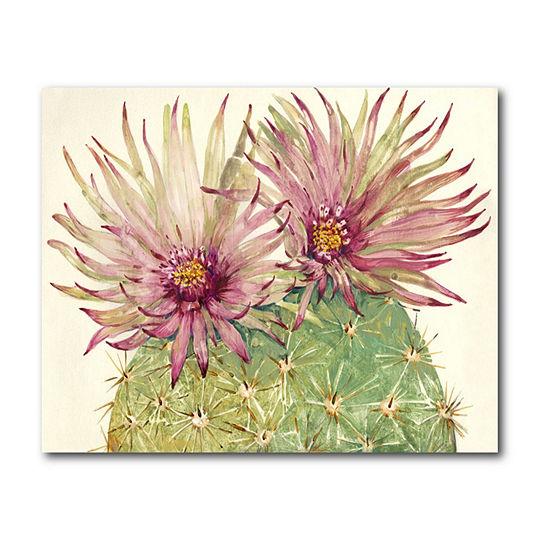 Courtside Market Cactus Blossoms I Canvas Art