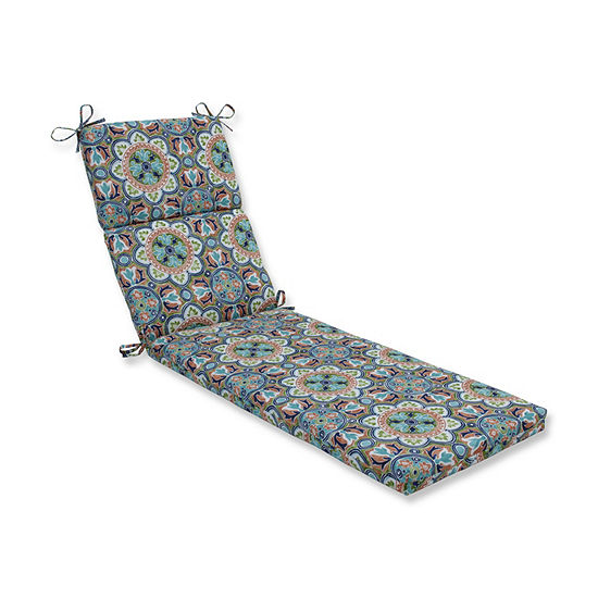 Pillow Perfect Lagoa Tile Flamingo Patio Chaise Lounge Cushion