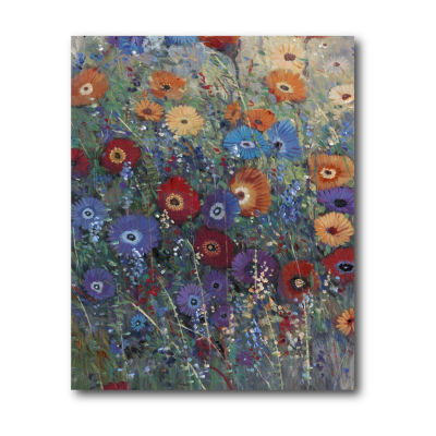 Flower Patch I Canvas Art