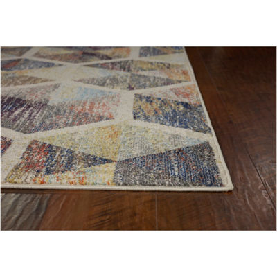 Kas Mediterra Prisms Rectangular Indoor Rugs