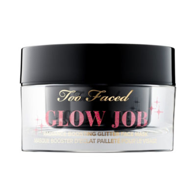 Too Faced Glow Job Radiance-Boosting Glitter Face Mask