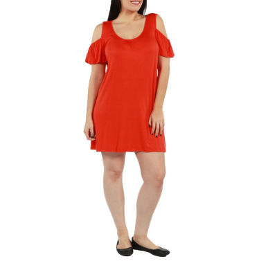 24/7 Comfort Apparel Blythe Dress - Plus