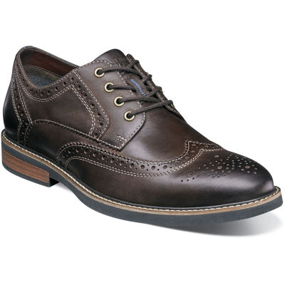 Nunn Bush Oakdale Men's Wingtip Dress Oxford Shoes