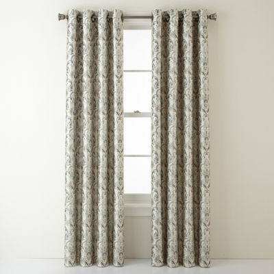 JCPenney Home Blackout Grommet-Top Curtain Panel