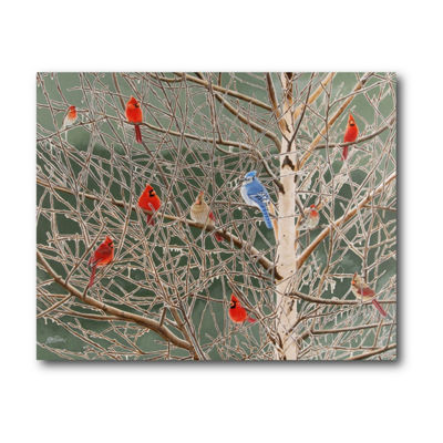 Winter Fosted Canvas Art