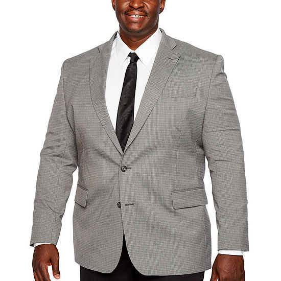Stafford Year Round Stretch Classic Fit Sport Coat Big and Tall