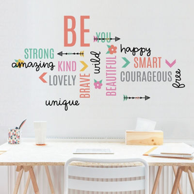 New View New View Inspirational Decals Wall Decal