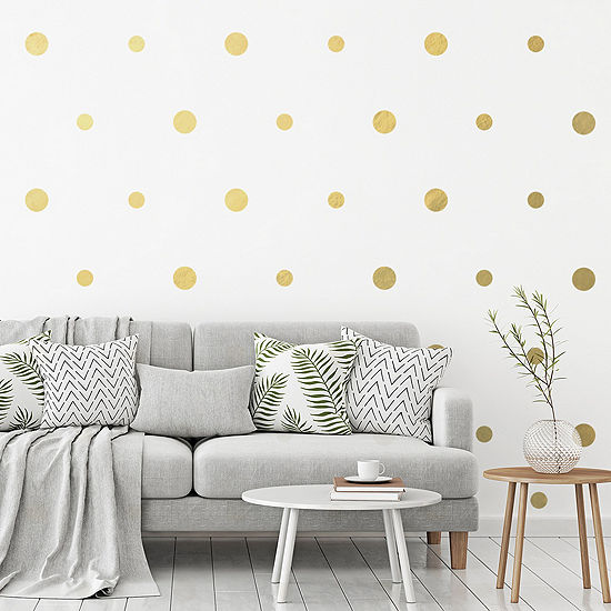 New View New View Gold Dot Decal Wall Decal