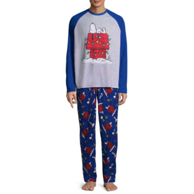 Snoopy 2 Piece Pajama Set -Men's
