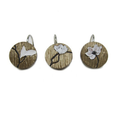 Croscill Classics Magnolia Shower Curtain Hooks