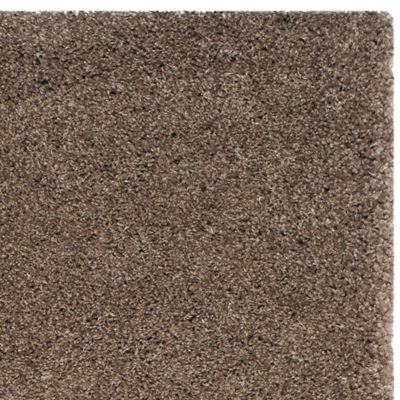 Safavieh Santa Monica Shag Collection Ainsley Solid Square Area Rug