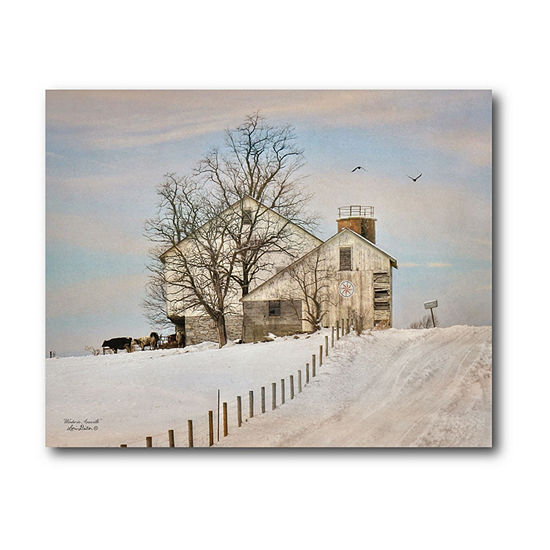 Courtside Market House On The Hill Canvas Art