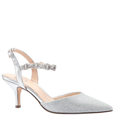 I. Miller Bryanna Womens Pumps Buckle Pointed Toe Cone Heel