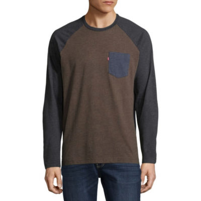 Levi's® Raglan Ordu Long Sleeve T-Shirt