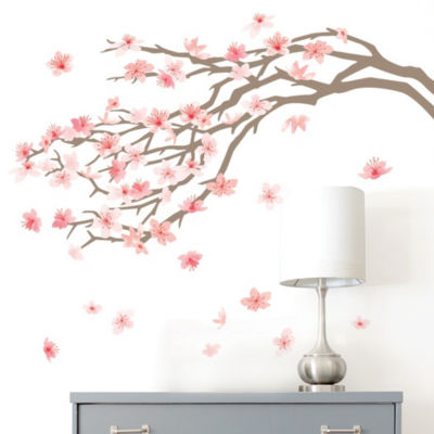 New View Cherry Blossom Wall Decal