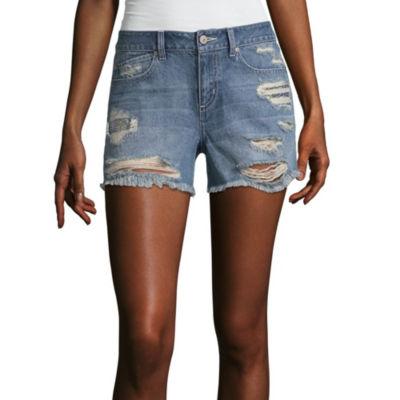 "Tyte Jeans 4"" Denim Shorts-Juniors"