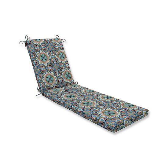 Pillow Perfect Lagoa Tile Flamingo Oversized Patio Chaise Lounge Cushion