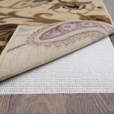 Tayse Comfort Grip Traditional Rectangular Rug Pad