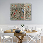 Courtside Market Winter Fosted Canvas Art