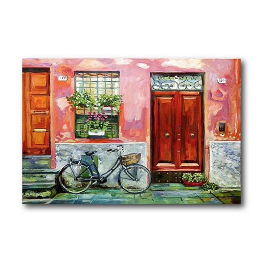 Courtside Market The Visitor Canvas Art