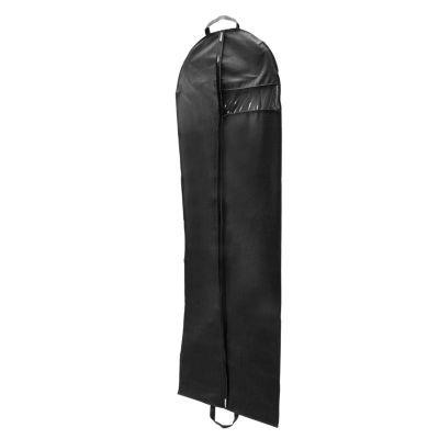 Kennedy International Gown Garment Bag-Black 24x72 Garment Bag