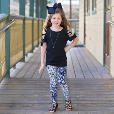 Mayah Kay Fashion Cut-out Tunic - Toddler