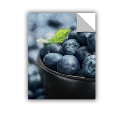 Bali Hai Berries Removable Wall Decal