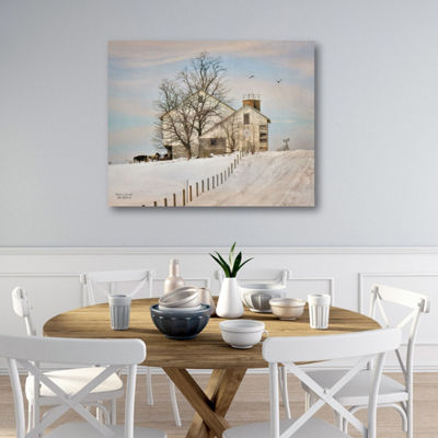 House On The Hill Canvas Art