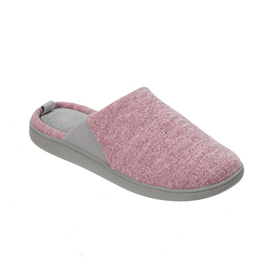 Dearfoams Closed Toe Scuff Slippers