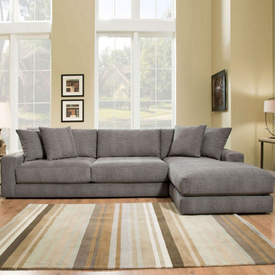 Fabric Possibilities Ponderosa Quick Ship 2-Piece Right Arm Facing Sectional