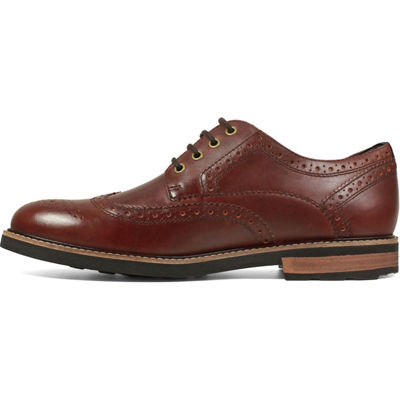 Nunn Bush Oakdale Men's Wingtip Dress Oxford Shoes