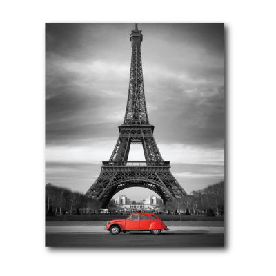 Touring Paris I Canvas Wall Art Canvas Art