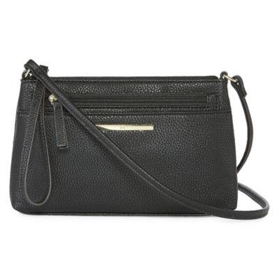 Liz Claiborne Hadley Conv Crossbody Bag